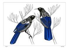 Kura Gallery Maori New Zealand Design Sam Clark Print maker