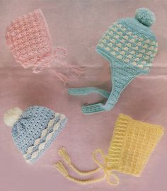 Bambino e per i più piccoli cappelli PDF di PDFKnittingCrochet