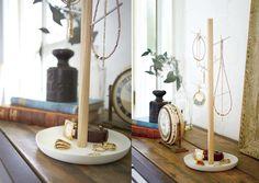 présentoir bijoux porte bijoux déco scandinave