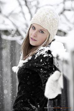 Snow Angel Photoshoot - Marta - 2012-01-29 by pwarmuz, via Flickr