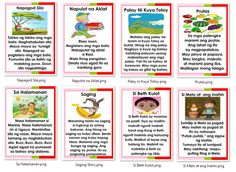 14 Short Stories in Filipino Microsoft Publisher Instructional Material 1st Grade Reading Worksheets, Grade 1 Reading, Reading Comprehension Activities, Kindergarten Math Worksheets, Reading Passages, Kindergarten Reading, Preschool Activities, Short Stories For Students, Story For Grade 1