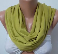 Tube Scarf, Infinity Scarf Loop Scarf Circle Scarf -  It made with good quality  fabric$22.00
