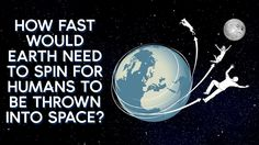 How fast would Earth need to spin for humans to be thrown into space?