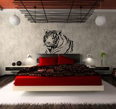 Wall Stickers - Animals - Tiger at Trendy Stickers