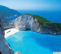Остров Закинф, пляж Навайо, Греция