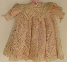 Lovely Antique Net Dress with Under Slip