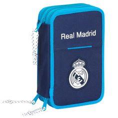 PLUMIER REAL MADRID AZUL  Este artículo lo encontrará en nuestra tienda on line de complementos www.worldmagic.es info@worldmagic.es 951381126 Para lo que necesites a su disposición