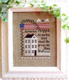America - Cross Stitch Pattern