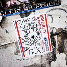 Onyx SAS #sassygals #streetart #graffiti #stickers #slaps #crosbystreet #soho #nyc