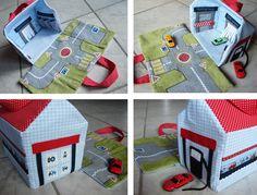 Paula's Haus: Autogarage zum Mitnehmen...