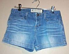 Women's American Eagle Jean Denim Shorts Size 2 #AmericanEagleOutfitters #MiniShortShorts