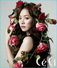Korean guys love this actress Han Ji-min! Korean Star, Korean Men, Korean Girl, Flower Head Wreaths, Flower Crowns, Han Ji Min, Asian Angels, Photography Pics, Glamour Photography