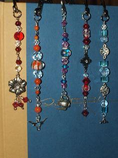 shepherd's hook bookmarks, handmade by me =)
