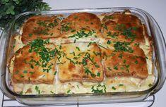 Polish Recipes, Salmon Burgers, Casserole Recipes, Quiche, Zucchini, Good Food, Brunch, Lunch Box, Menu