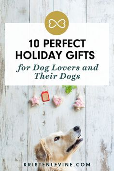 Use this holiday gift guide for dog lovers to help you find the perfect gift for the dog or dog parent on your Christmas gift list.