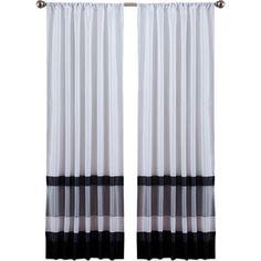 Cumberland Rod Pocket Single Curtain Panel