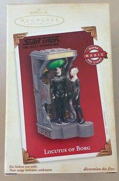 Hallmark Star Trek Locutus of Borg