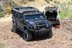 Land Ops off road vehicles - Hummer