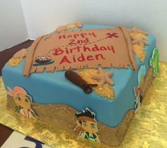 Jake And The Neverland Pirate Cake Disney