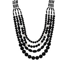 Joan Rivers Private Collection Dramatic Bead Necklace