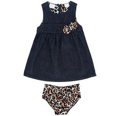 The Koala Baby Girls' Denim Sleeveless Dress, exclusively from Babies'R'Us, has a certain animal charm! Toddler Outfits, Baby Boy Outfits, Kids Outfits, My Little Girl, My Baby Girl, Niece And Nephew, To My Daughter, Sleeveless Denim Dress, Pretty Baby