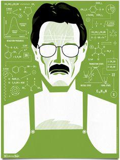 Breaking Bad posters from award-winning graphic designer Ty Mattson