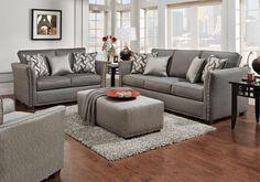 Lacks | Technique 2-Pc Living Room Set