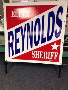 political sign by Felty Custom Graphics. Political Signs, Sign Design, Police, Graphics, Prints, Graphic Design, Printmaking, Law Enforcement