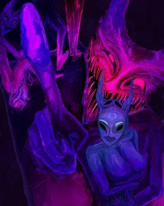 Baphomet, Kevin Abstract, Black Art Pictures, Grunge Art, Funky Art, Cute Patterns Wallpaper, Creepy Art, Magic Art, Cartoon Art Styles