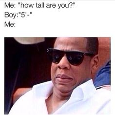 When a potential date drops the number 5 in a conversation. | 32 Problems All Tall Girls Will Understand - This!