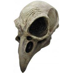 Disfraces de Halloween: Máscara de Esqueleto Cuervo