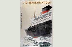 France, Compagnie Générale Transatlantique France, Movies, Movie Posters, Iron, Travel, Projects, Films, Film Poster, Cinema