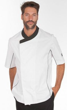 Gastro Chef Más Salon Wear, Waiter Uniform, Hotel Uniform, Restaurant Uniforms, Professional Wear, Uniform Design, Love Shirt, Work Attire, Custom Clothes