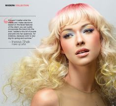 The steps Sonya and Christopher Dove took to create this beautiful style using Hairdreams extensions.