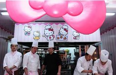 hello kitty restaurant. so freaky I must see it. If there arent marshmallows featured in every menu item, I will be displeased.