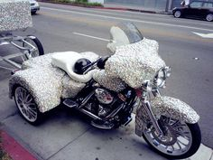 For when I'm to old to hold 2 wheels up!  Hail to the Queen haha!!!!!!