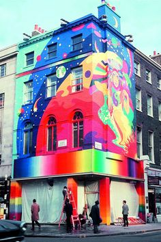 On December 7 1967 The Beatles Apple Boutique 94 Baker Street In London