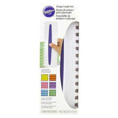 "3-Piece Icing Comb Set Size: 9"" x 3"" Price: $14.99 Hobbylobby.com"
