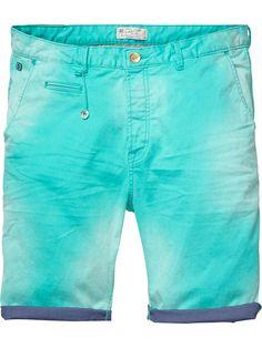 Shorts chinos con slim fit   Shorts   Ropa para hombre en Scotch & Soda