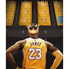 First off, LeBron James is THE best player in the league right now. Second, yes I am a bandwagon fan and am not ashamed to admit it. Third, I am so excited for basketball season to start, but I never thought I would be repping the Lakers. Lebron James Lakers, King Lebron James, King James, Lebron James Dunk, Lebron James Quotes, Nba Basketball, Basketball Posters, Basketball Legends, Basketball Quotes
