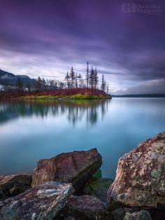 Shutter Island, Columbia River Gorge, Oregon by Christina Angquico