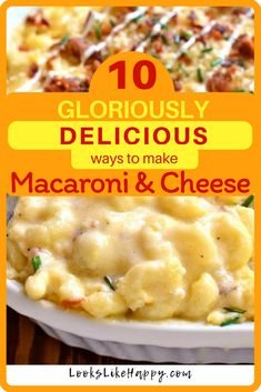 10 Mac and Cheese Re