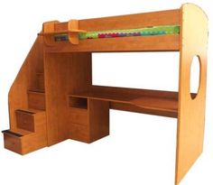 Loft Bed with Desk - Canadian Made