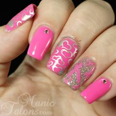 Breast Cancer Awareness Manicure