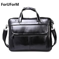 78.88$  Buy now - http://aliy3o.shopchina.info/1/go.php?t=32656654159 - 2017 vintage genuine leather men Briefcase cowhide Fashion briefcase business laptop bag LI-1129  #magazineonline