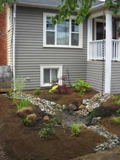 How To Build Your Own Rain Garden Landscaping Pinterest