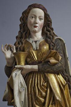 Nicolaus Gerhaert of Leyden  Figure of Saint Mary Magdalene  1462  Nördlingen Protestant parish church of St. Georg