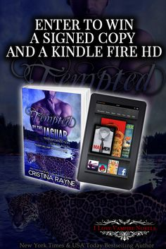 Win A Kindle Fire & Signed Paperbacks From NY Times & USA Today Bestselling Author Cristina Rayne