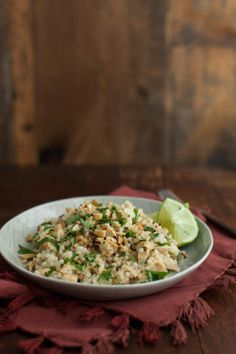 Naturally Ella | Thai Roasted Cauliflower with Pearl Couscous