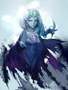 [※黑化注意] 雪の女王 by XX on pixiv